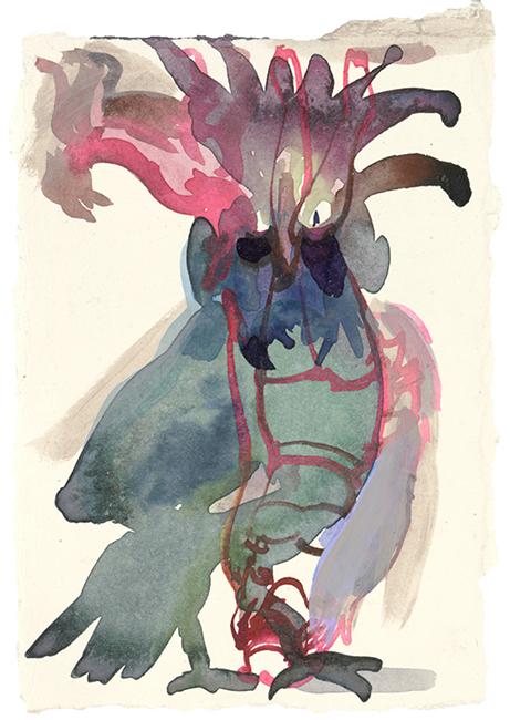 2_NEU_Anija_Seedler_Harpije_Chinoiserie_2016_Pigment_Ink_acrylic_on_Paper_24x18cm_Privatsammlung_650