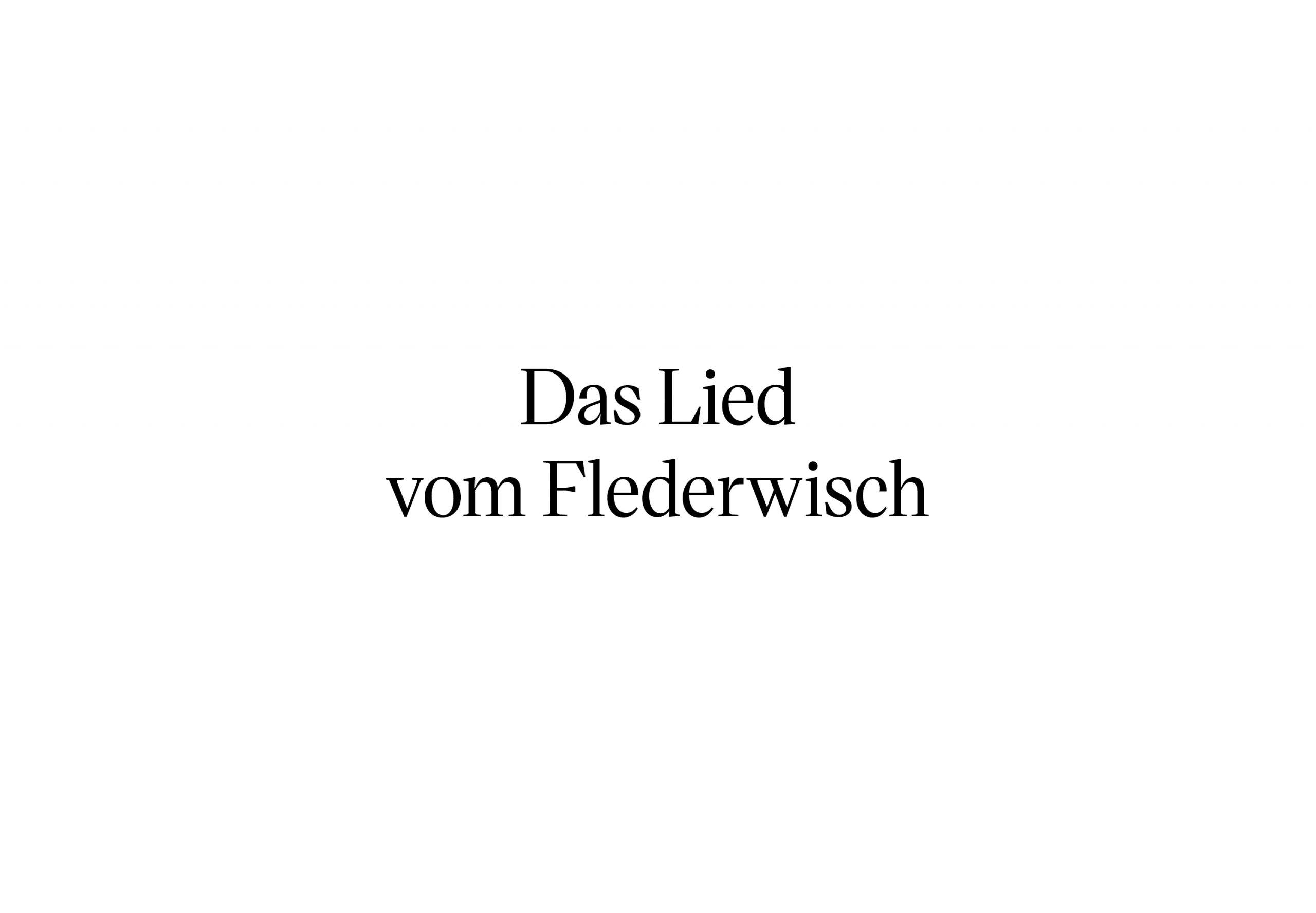 Flederwisch